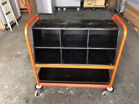QUALITY ORDER PICKING / FILING TROLLEY