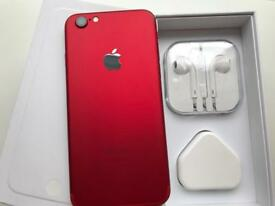 IPhone 6 64gb metallic red and black ( unlocked ) any network