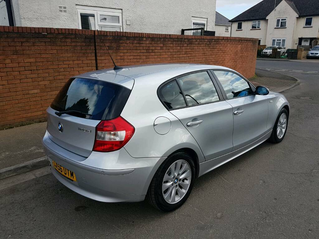 2006 56 bmw 120d se automatic silver diesel hatch 1 series in cyncoed cardiff gumtree. Black Bedroom Furniture Sets. Home Design Ideas