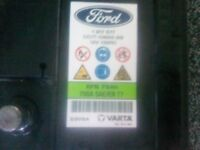 Ford Focus 2017_ Stop-Start Battery
