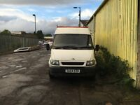 2004 FORD TRANSIT 280LWB 2.4 TDI 104000, full year MOT. 700£