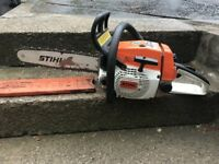 stihl 024 woodboss chainsaw just been serviced ready for work ++++++++++++++++++++++++++++++++++++++