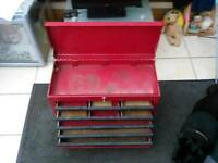 Red Toolbox with lockable lid