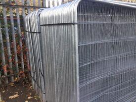 roundtop heras fencing panels