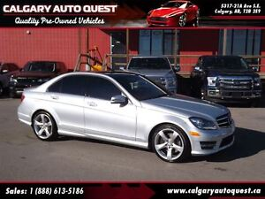 2014 Mercedes-Benz C-Class C350 4-MATIC/NAVI/CAM/LEATHER/ROOF