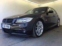 2006 | BMW 325i M Sport | Petrol | Auto | Service History | 1 Year MOT | HPI Clear | M Power | Black