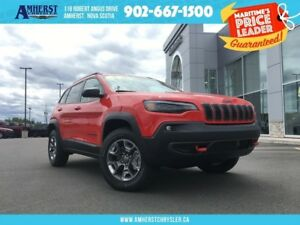 2019 Jeep Cherokee TRAILHAWK,V6,4X4,HEATED SEATS/WHEEL,AUTO STAR