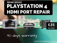6hrs turaround - PlayStation 4 HDMI Port Replacement - FAST PS4 Repair Service - MANCHESTER M18 7AN