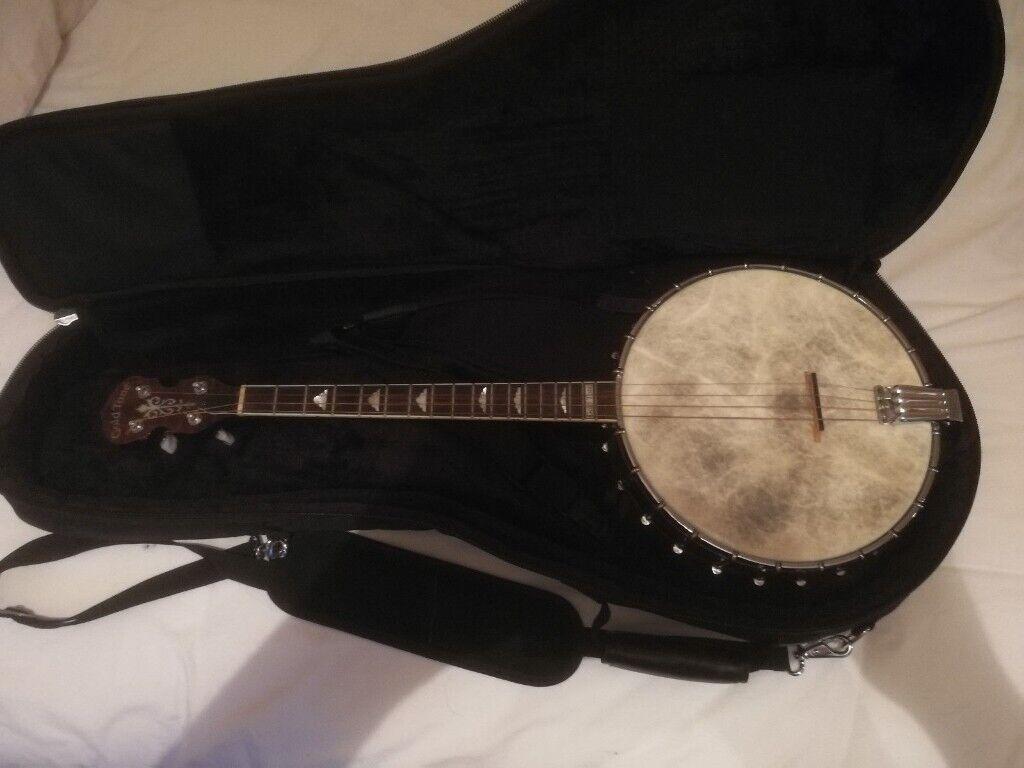 Gold Tone IT250 17 fret Irish Tenor Open Back Banjo with deluxe gig bag |  in Bangor, County Down | Gumtree