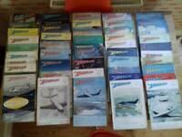 Vintage Aeroplane Magazine collection 1948-1952
