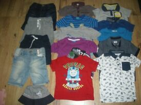 A Lovely Smart Boys Clothes Bundle (inc M&S and Thomas Tank Engine items) ages 2-3 years