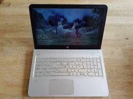HP Envy 15 Laptop - Fast & Powerful - 16GB RAM, 240GB SSD - AMD A10 - Windows 10. Mint condition.