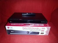 LG DVD recorder with 160gb HDD.