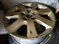 "lexus sport 16"" 5x114.3 alloy wheels x4 with two tyres fit honda, toyota, mazda etc drift skid?"