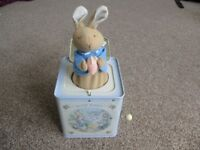 Peter Rabbit Musical Jack-In-The-Box ~ Good, Used Condition ~ ONLY £3