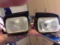 MK2 MR2 headlights.