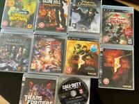 10 PS3 games - Make me a OFFER
