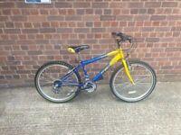 mountain Striker FreeSpirit MTB kids bike wheels 24 good condition and fully working