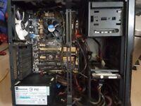 Powerful PC Tower i7 4770K 3.50GHz 16GB RAM 500GB HDD Windows 10 Pro Zalman Gaming Case