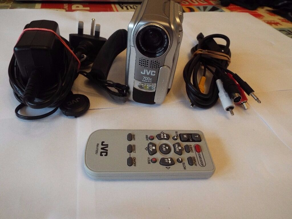 JVC Digital Cassette Video Camera F1.2in Lee on the Solent, HampshireGumtree - JVC Digital Cassette Video Camera F1.2 700x digital zoom complete with all accessories, unfortunately no instructions, however they can be downloaded from the internet