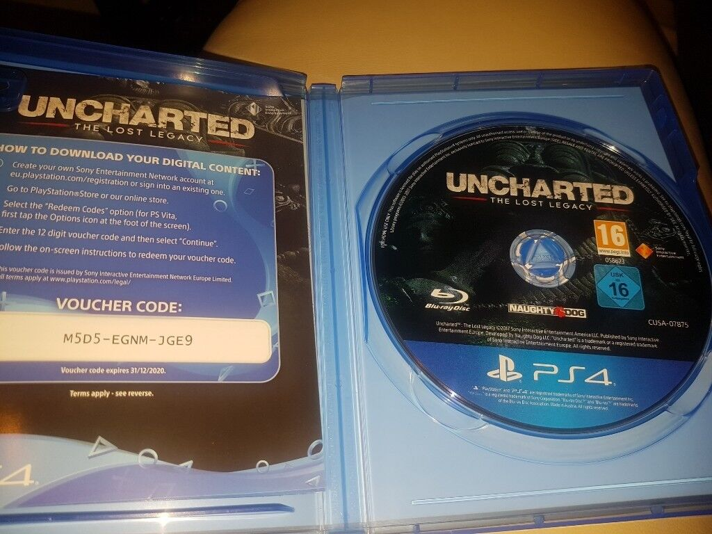 Ps4uncharted The Lost Legacy Reg 3 Uncharted 4 A Thiefs End Ps4 In