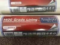 2x wall Lining paper