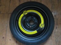 "14"" inch Spare wheel for car. Space saver suit VW Polo etc"