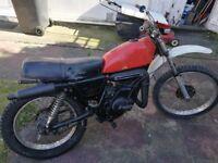 Suzuki ts 125 dirt bike
