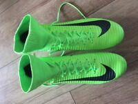 NIKE Mercurial size 11 worn once on Astro therefore Brand new condition. Ankle collar moulded studs.