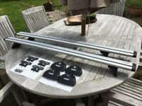 Thule Evo Wingbars (7112) with Fitting Kit (753) ***Complete & Ready to Use***