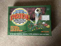 Brand New & Sealed Pride Football Trivia Game Newcastle Edition