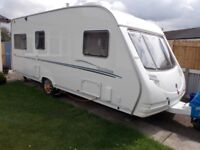 Touring Caravan -- With twin fixed single beds