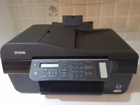 Epson Stylus BX300F All-in-one Printer for sale in full working order along with the inks
