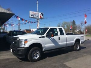 2013 Ford F-250 FX4, Heated Leather Seats, 8ft Box, Power Contro