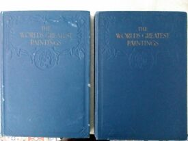 The World's Greatest Paintings Vol 1 & 2 (Book)