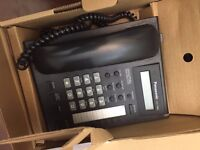 Business Telephones/Office Hanset/Panasonic KX-T7668 - Telephone in Black for office or home 7 Boxes
