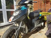 piaggio 125 typhoon loads of new parts and low mileage engine .