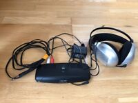 Wireless UHF headphones AKG K105