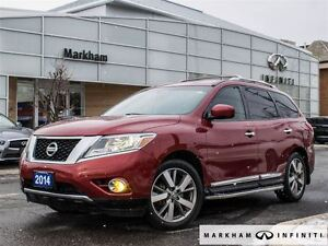 2014 Nissan Pathfinder Platinum ,Affordable Luxury SUV for $189.