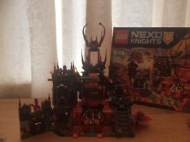 Lego Knights Jestros Volcano Lair Building Kit