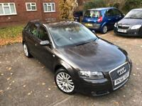 Audi A3 2.0TDi in great condition with 1 year MOT service history 2 keys passat golf polo astra A4