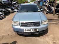 2002 Audi A6 2.5L Tdi Se Cvt Estate Diesel Blue BREAKING FOR SPARES