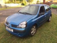 2003 Renault Clio 1.5 dci £30 road tax