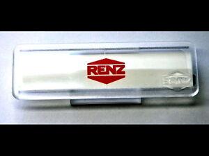 Renz Namenschild ohne Sperre, 65 x 22 mm, 97-9-82033 Kunststoff,glasklar