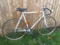 1980s vintage Peugeot premiere road racing bike large 60cm frame