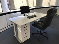 Office desks (x8) // storage cabinets (x2+x8) // Office chairs (x5) -> Furniture Clearance+FREE Sofa