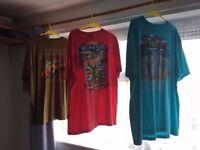 Weird Fish T shirts. X 6 . ALL NEW.