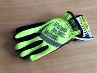 Mechanix wear hi-viz fast fit gloves