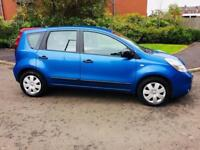AUTOMATIC+NISSAN NOTE 1.6 VISIA+1 YEAR MOT