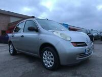 NISSAN MICRA S **NOISY WHEEL BEARING NO OFFERS** **NEW SHAPE** 1.2 PETROL CHEAP!! CHEAP!! CHEAP!!